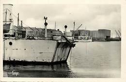 - Loire Atlantique -ref-C68- Saint Nazaire - St Nazaire - Ferry Boat De Débarquement Americain - Guerre 1939 -45 - - Saint Nazaire