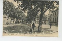 ALES - ALAIS - Place Du Lycée Et Boulevard Louis Blanc - Alès