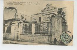 ALES - ALAIS - Collège De Jeunes Filles , Rue Saint Vincent - Alès