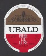 Etiquette De Bière De Luxe -  Ubald -  GBM  à  Roubaix   (59) - Beer