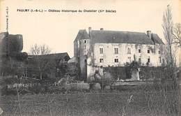 Paulmy        37       Château Du Chatelier           (voir Scan) - France