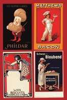 PUBBLICITARIE - BACON - BLAUBAND - BISCUITS - LAINES.   RIPRODUZIONE. - Publicité