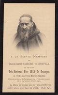 Faire Part Charles Mareschal De Longueville Père Jean De Besançon Ordre Des Frères Mineurs Capucins - Esquela