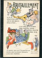 CPA - Illustration - LE RAVITAILLEMENT - Guerra 1914-18