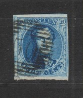 COB 7 Oblitération P50 GOSSELIES - 1851-1857 Medaillen (6/8)