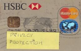 SCHEDA TESSERA HSBC NON ATTIVA - Autres Collections