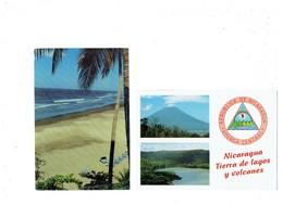 LOT 2 Cpm -  Amérique > Nicaragua - VOLCAN - MONTELIMAR BEACH - - Nicaragua