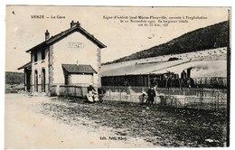 Saône Et Loire VERZE La Gare Ligne D'intérêt Local Macon-Fleurville ..... - Altri Comuni