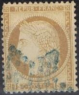 N°55 Etoile Pleine Bleue Belle Frappe Beau Timbre - 1862 Napoléon III