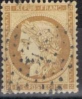 N°55 Etoile 4 Ex 24 Belle Frappe Beau Timbre - 1862 Napoléon III