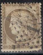 N°56 Etoile 1 Belle Frappe Beau Timbre - 1862 Napoléon III