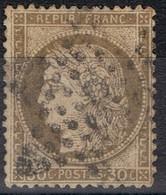 N°56 Etoile 3 Frappe Correcte Beau Timbre - 1862 Napoléon III