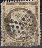 N°56 Etoile 8 Frappe Correcte Un Coin Usé - 1862 Napoléon III
