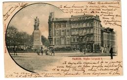 NAMUR (1901) - Statue Léopold I - Dos Non Divisé - Namur