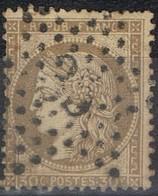N°56 Etoile 35 Frappe Correcte Timbre Correct - 1862 Napoléon III