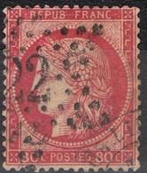 N°57 Etoile 22 Belle Frappe Beau Timbre - 1862 Napoléon III