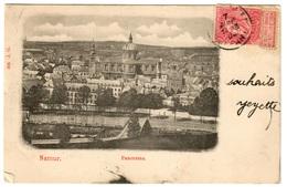 NAMUR (1904) - Panorama - Dos Non Divisé - Namur