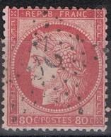 N°57 Etoile 26 Belle Frappe Beau Timbre - 1862 Napoléon III