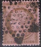 N°58 Etoile 2 Belle Frappe Beau Timbre - 1862 Napoléon III