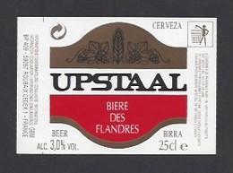 Etiquette De Bière Des Flandres    -  Upstaal -   GBM à  Roubaix   (59) - Beer