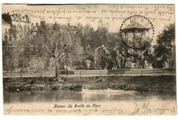 NAMUR (1905) - La Grotte Du Parc - Dos Non Divisé - Namur