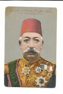 TURQUIE /S.M.J. SULTAN MEHMED KHAN V Empereur TURC 1844 - 1918 / CPA  N° 12092 VIERGE /rare Soldée. - Turchia