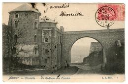 NAMUR (1904) - Citadelle. Le Château Des Comtes - Dos Non Divisé - Namur