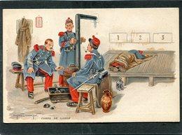CPA - Illustration Eugène Chaperon - CORPS DE GARDE - Regiments