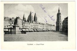 TOURNAI - Grand'Place - Dos Non Divisé - Tournai