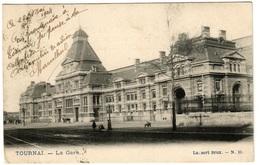 TOURNAI (1904) - La Gare - Dos Non Divisé - Tournai