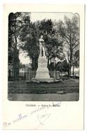 TOURNAI - Statue Du Mortier - Dos Non Divisé - Tournai