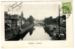 TOURNAI (1904) - L'Escaut - Dos Non Divisé - Tournai
