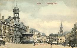 CPA - Belgique - Mons - Grand'Place - Mons