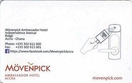 GHANA  KEY HOTEL   Mövenpick Ambassador Hotel Accra - Relax & Enjoy - Hotelkarten