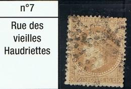 N°28 Etoile 7 Frappe Lisible Beau Timbre - 1862 Napoléon III