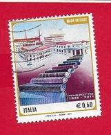 ITALIA REPUBBLICA USATO - 2011 - Made In Italy - Marzotto - € 0,60 - S. 3274 - 6. 1946-.. Republic