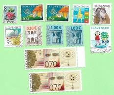 4490  --  SLOVAQUIE - Lot  De  Timbres Neufs + Oblitérés - Collections, Lots & Séries