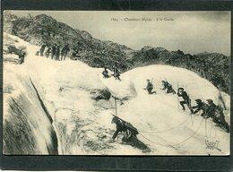 CPA - Chasseurs Alpins - A La Corde - Regiments