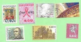 4499  --  SLOVAQUIE - Lot  De  Timbres Neufs + Oblitérés - Slovakia