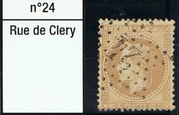 N°28 Etoile 24 Belle Frappe Beau Timbre - 1862 Napoléon III