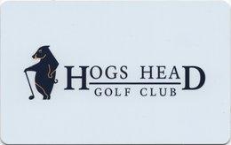 IRLANDA KEY HOTEL  Hogs Head Golf Club - Waterville, Co. Kerry - Hotelkarten