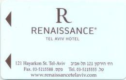 ISRAELE KEY HOTEL  Renaissance Tel Aviv Hotel - Hotelkarten