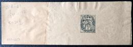 Bande Journal 1c Blanc - Date 330 - Biglietto Postale