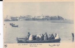 CPA RABAT VUE PRISE DE SALE - Rabat
