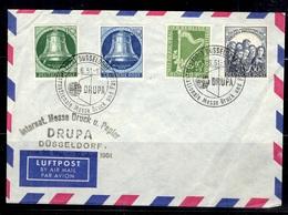 Berlin Belle Enveloppe De 1951 Avec YT N° 58/59, N° 62 Et N° 64 Oblitérés. B/TB. A Saisir! - Lettres & Documents
