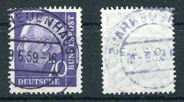 Deutschland Michel-Nr. 263 Vollstempel Rollenmarke 0575 - Rollenmarken