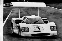 Chaparral Type 2F  -  Pilotes: Hill/Spence  -  500 Miles De Brands Hatch 1967  -  Carte Postale - Le Mans