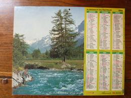 Calendrier, Almanach Du Facteur - La Poste - 1992 - La Chasse (sanglier) - La Pêche - Autres