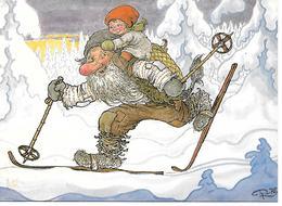 Illustrator - Rolf Lidberg - Giants, Reuzen, Les Géants, Troll, Trolls, Trolle, Me And My Granddad / Modern Format - Autres Illustrateurs