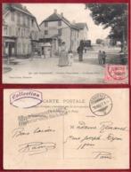 CPA..LES VERRIERES...FRONTIERE FRANCO-SUISSE...LA DOUANE SUISSE - Other Municipalities